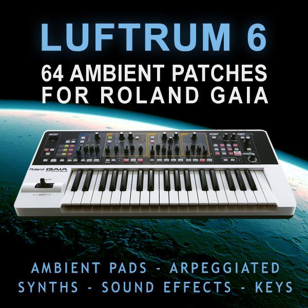 Roland Gaia Sound Designer Software