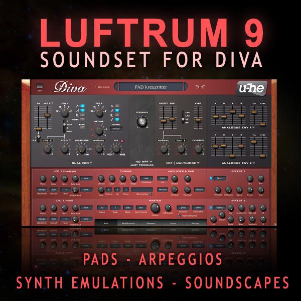 Luftrum sound design luftrum 9 - U he diva ...