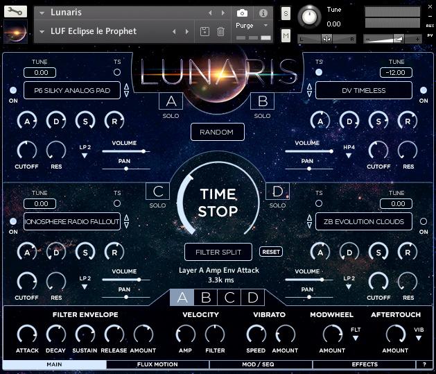 Luftrum, Sound Design  – Lunaris